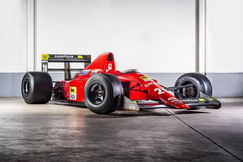 10. 1989 Ferrari 640 F1 - Gerhard Berger
