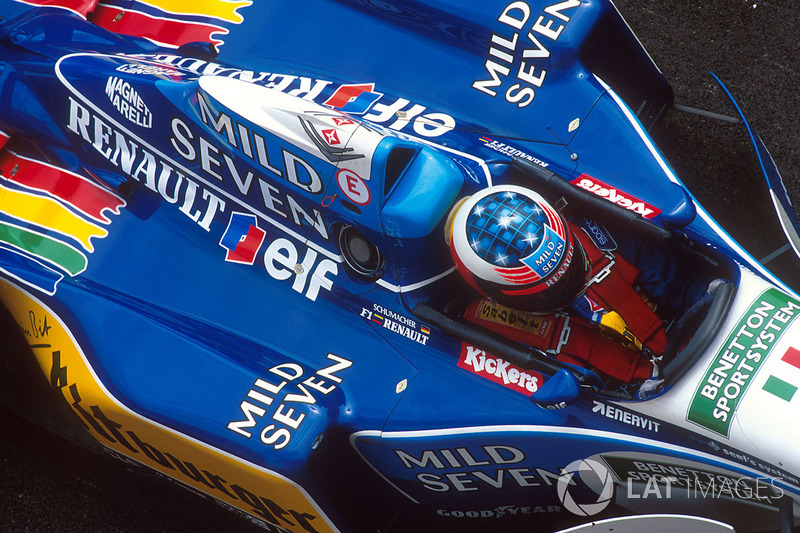 7. San Marino 1995, Benetton B195