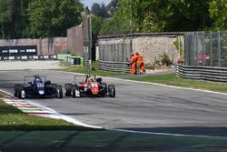 Ferdinand Habsburg, Carlin, Dallara F317 - Volkswagen, Maximilian Günther, Prema Powerteam Dallara F317 - Mercedes-Benz