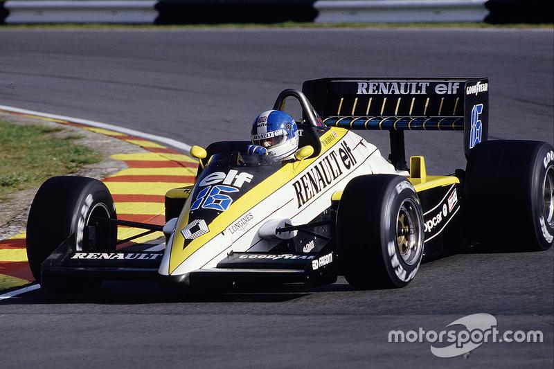 Renault 1985: Derek Warwick, Renault RE60B