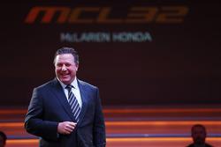 Zak Brown, directeur McLaren Technology Group