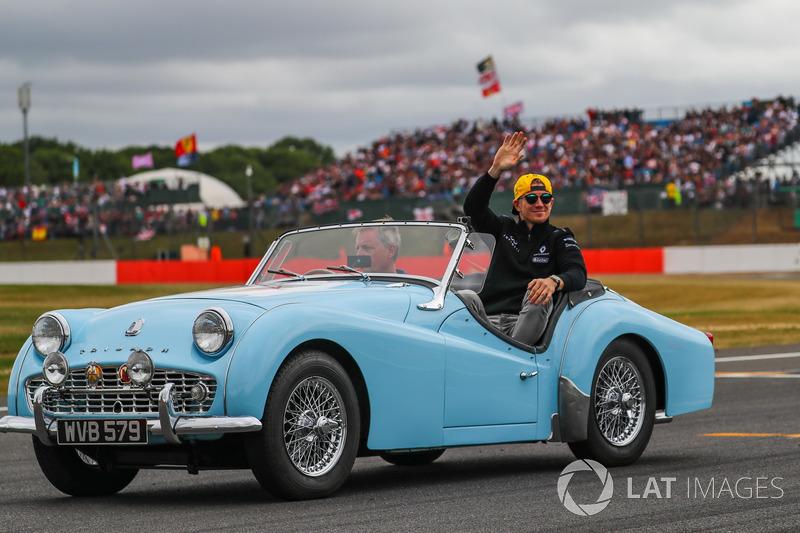 Nico Hulkenberg, Renault Sport F1 Team en el desfile de pilotos