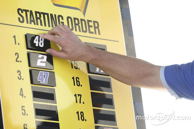 Pole position para Jimmie Johnson, Hendrick Motorsports Chevrolet en la carrera Unlimited