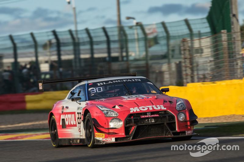 30. #22 Motul Team RJN Motorsport, Nissan GT-R Nismo GT3