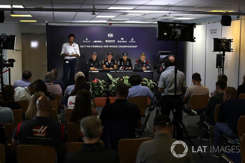 Стофель Вандорн, McLaren, Макс Ферстаппен, Red Bull Racing, Серхіо Перес, Force India, Кевін Магнуссен, Haas F1
