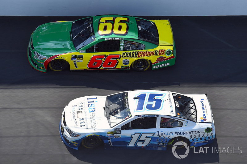 Joey Gase, BK Racing Toyota, Carl Long, Motorsports Business Management, Chevrolet SS