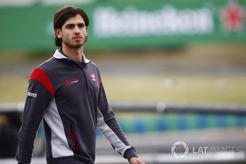 Antonio Giovinazzi, Haas-Testfahrer