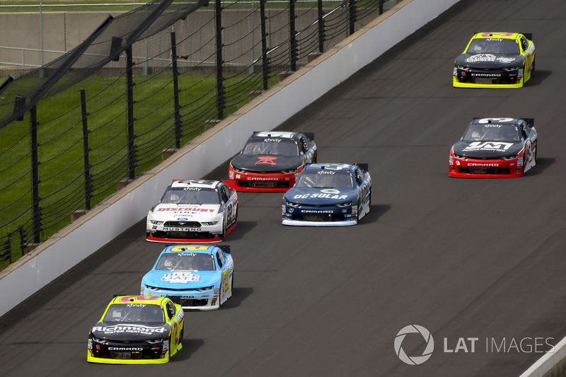 Paul Menard, Richard Childress Racing Chevrolet y Daniel Hemric, Richard Childress Racing Chevrolet