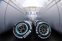 Neumáticos de compuesto medio de Pirelli