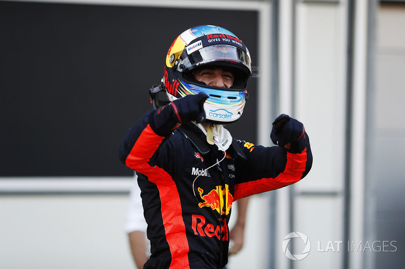 Azerbaycan GP - Kazanan: Daniel Ricciardo