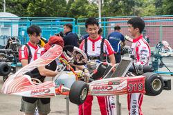 Feng Yuli(L), Zhang Haopeng(M), Li Mingyang(R), Mars Racing Team