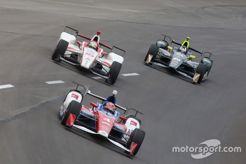 Конор Дэли, A.J. Foyt Enterprises Chevrolet, Тристан Вотье, Dale Coyne Racing Honda, Эд Карпентер, Ed Carpenter Racing Chevrolet