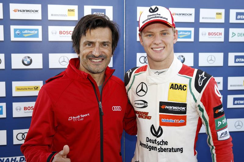 Mick Schumacher, Prema Powerteam, Dallara F317 - Mercedes-Benz ve Stéphane Ortelli