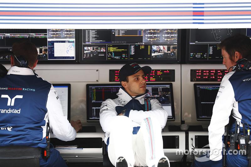 Felipe Massa, Williams, Rob Smedley, Williams Head of Vehicle Performance