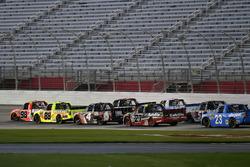 Grant Enfinger, ThorSport Racing, Toyota; Matt Crafton, ThorSport Racing, Toyota