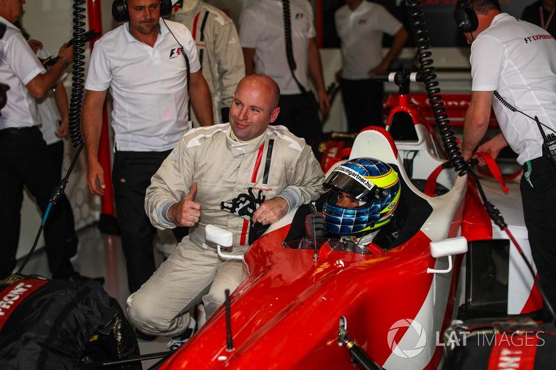 Zsolt Baumgartner, F1-Doppelsitzer