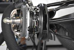 Williams FW40 montaje de freno