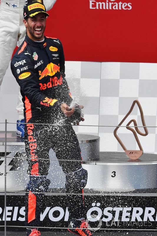 Третє місце Даніель Ріккардо, Red Bull Racing