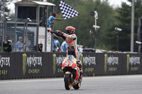 Marc Marquez, Repsol Honda Team, wins