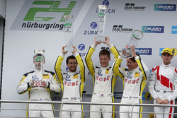 Podium: second place #98 Rowe Racing, BMW M6 GT3: Markus Palttala, Nicky Catsburg, Richard Westbrook, Alexander Sims