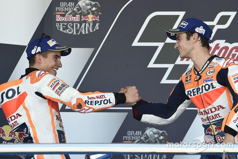 Подвійний подіум Repsol Honda та третій переможець у чотирьох гонках - Педроса