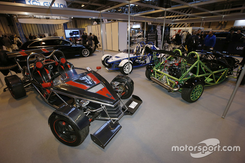 The Exo Sports Car Stand At Autosport International Show - Car show wheel stands