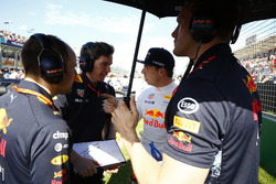 Max Verstappen, Red Bull Racing, on the grid