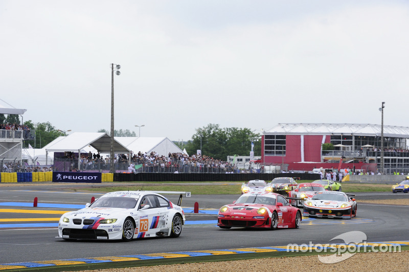 No 78, Team BMW Motorsport, BMW M3 GT2, 2010 Le Mans 24 Hours