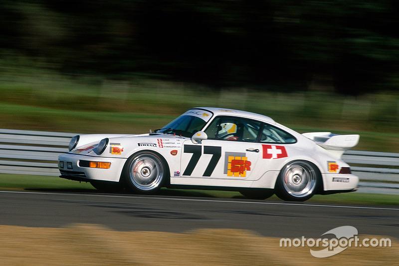 #77 Porsche 911 Carrera RSR: Claude Haldi, Olivier Haberthur, Charles Margueron
