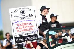 №7 Toyota Gazoo Racing Toyota TS050 Hybrid: Майк Конвей, Камуи Кобаяши, Стефан Сарразен