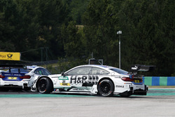 Tom Blomqvist, BMW Team RBM, BMW M4 DTM, testacoda