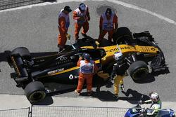 Остановка на трассе: Сергей Сироткин, Renault Sport F1 RS17