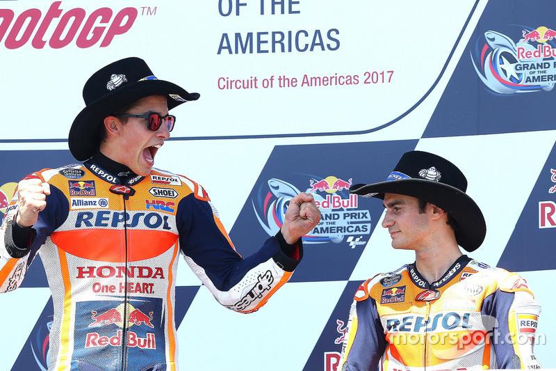 Pedrosa melengkapi raihan podium ganda Repsol Honda