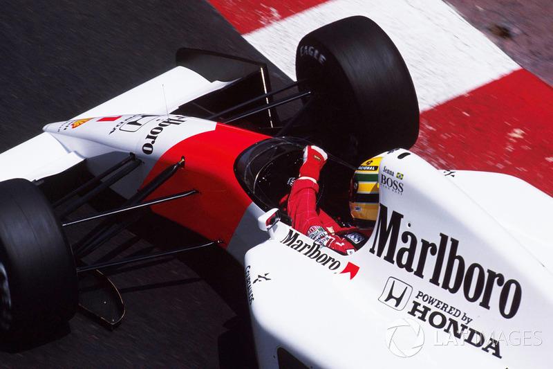 GP de Mónaco 1992