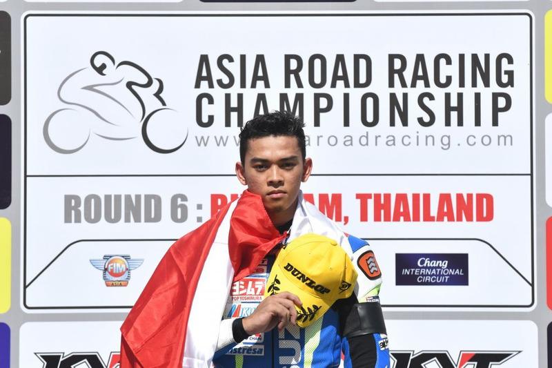 Jefri Tosema, Juara Suzuki Asian Challenge 2016