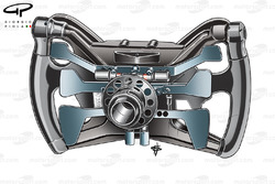 Red Bull RB6 steering wheel