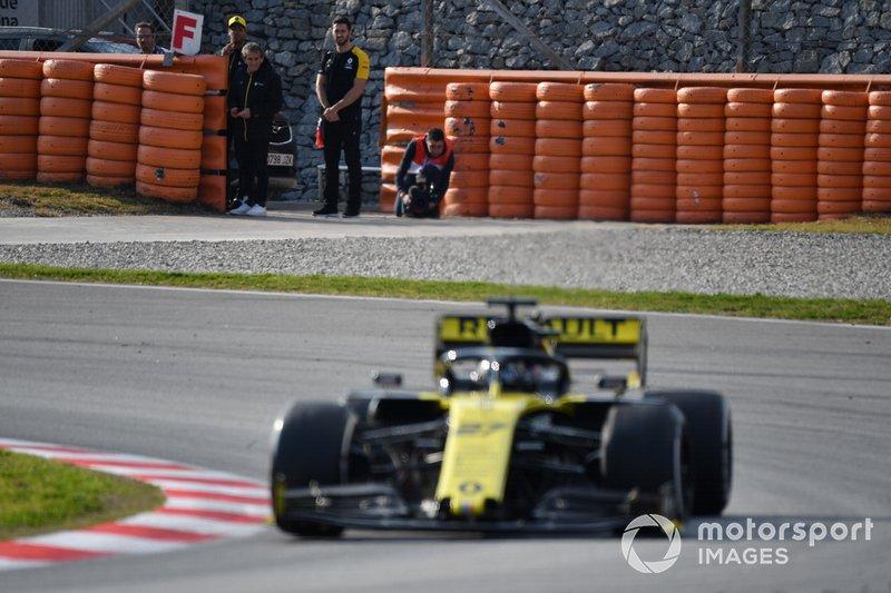 Ніко Хюлькенберг, Renault F1 Team R.S. 19, Даніель Ріккардо, Ален Прост, Renault F1 Team