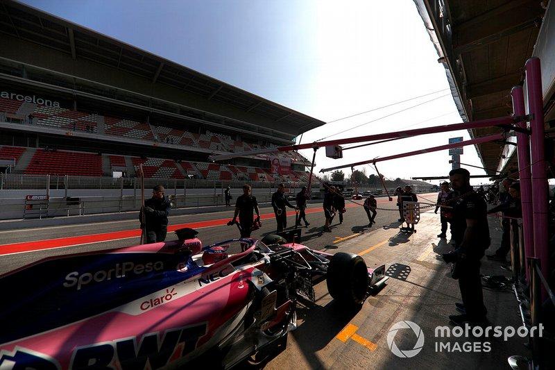 Lance Stroll, Racing Point F1 Team RP19 Lance Stroll, Racing Point F1 Team RP19