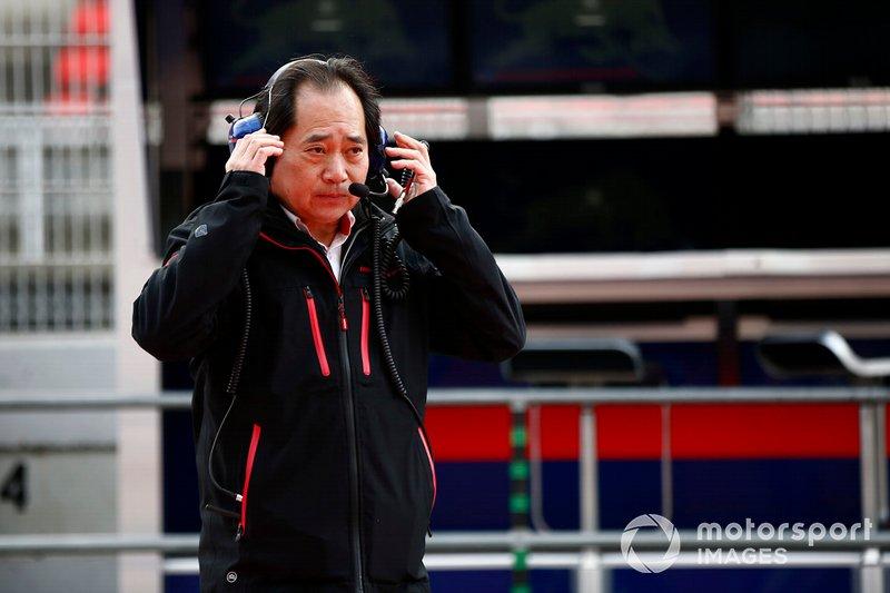 Toyoharu Tanabe, direttore tecnico F1, Honda