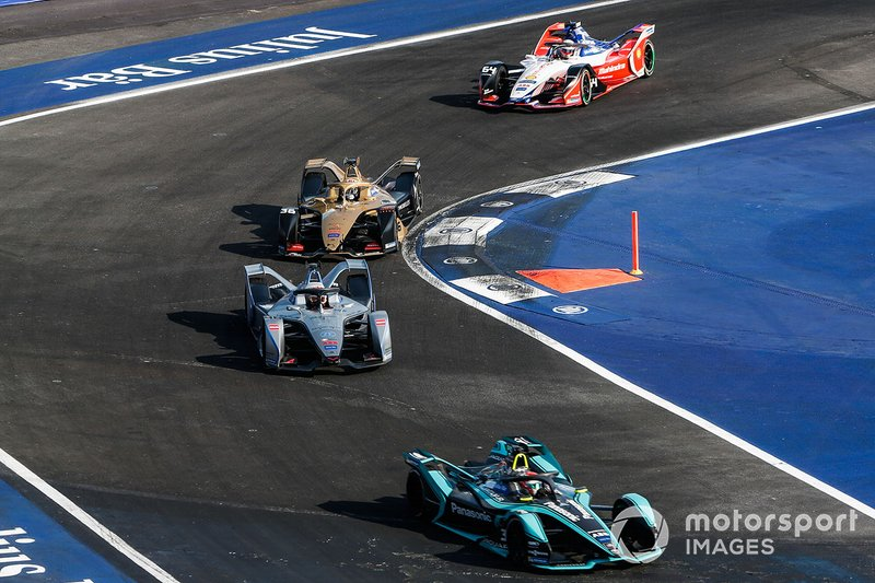 Nelson Piquet Jr., Panasonic Jaguar Racing, Jaguar I-Type 3 Edoardo Mortara, Venturi Formula E, Venturi VFE05, Andre Lotterer, DS TECHEETAH, DS E-Tense FE19