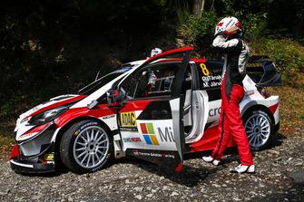 Отт Тянак и Мартин Ярвеоя, Toyota Yaris WRC, Toyota Gazoo Racing WRC