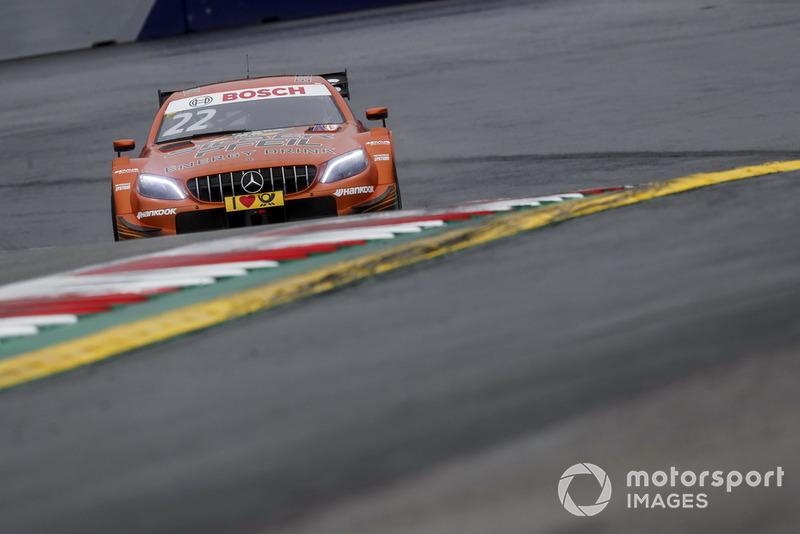 6. Lucas Auer, Mercedes-AMG Team HWA, Mercedes-AMG C63 DTM