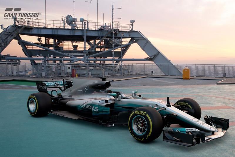 Mercedes AMG F1 W08 EQ Power+ 2017