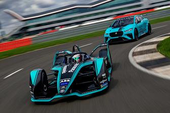 Nelson Piquet Jr., Jaguar Racing I-TYPE 3 and Jaguar I-Pace eTrophy