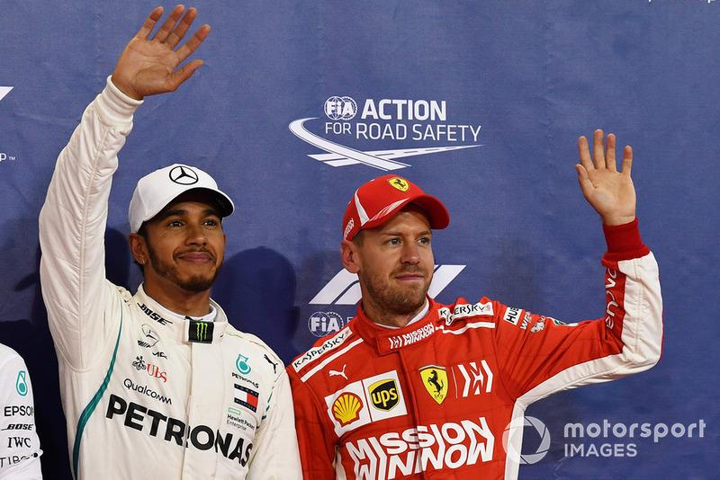 Льюіс Хемілтон, Mercedes AMG F1, Себастьян Феттель (третє місце)