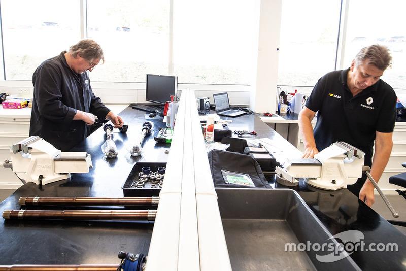 Персонал Renault F1