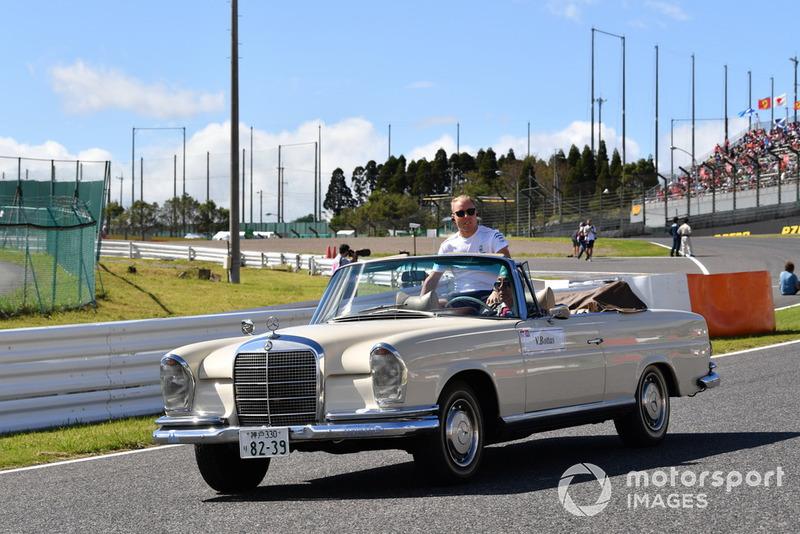 Valtteri Bottas, Mercedes AMG F1, durante la drivers parade