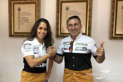 Anuncio de Herrera con Ángel Nieto a MotoE