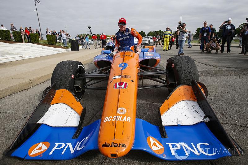 Scott Dixon, Chip Ganassi Racing Honda, Winner