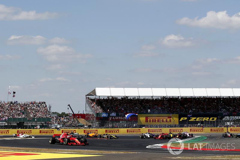 GP Inggris Raya - Kimi Räikkönen/Lewis Hamilton (balapan)